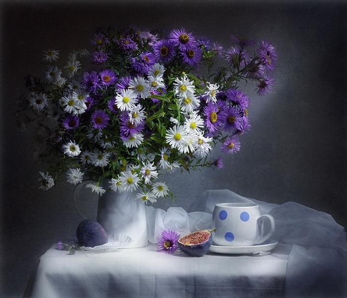 Открытки спокойной ночи цветы полевые, анимации бокал вина